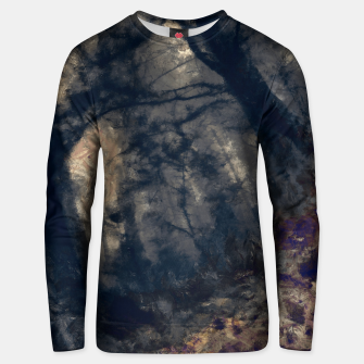 Thumbnail image of abstract misty forest painting hvhd hfall Unisex sweater, Live Heroes
