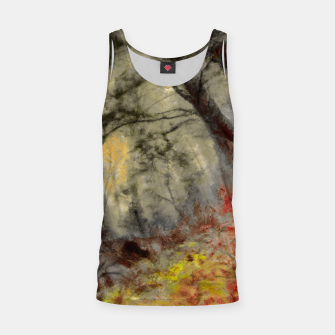 abstract misty forest painting hvhd hfsepia Tank Top thumbnail image