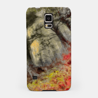 abstract misty forest painting hvhd hfsepia Samsung Case thumbnail image