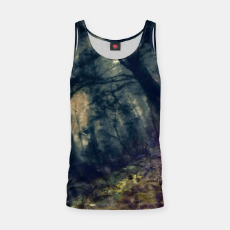 Thumbnail image of abstract misty forest painting hvhd hffn Tank Top, Live Heroes