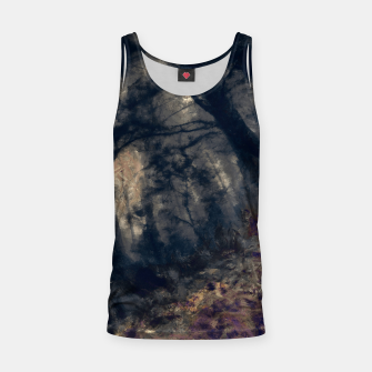 Thumbnail image of abstract misty forest painting hvhd hfall Tank Top, Live Heroes