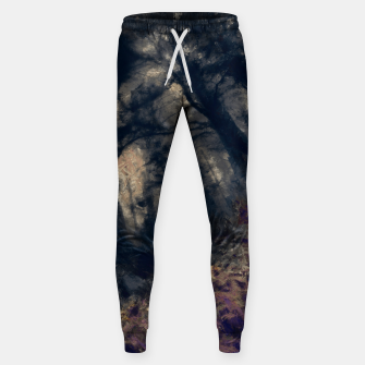 Thumbnail image of abstract misty forest painting hvhd hfall Sweatpants, Live Heroes