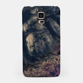 Thumbnail image of abstract misty forest painting hvhd hfall Samsung Case, Live Heroes
