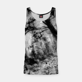 Thumbnail image of abstract misty forest painting hvhd hfbw Tank Top, Live Heroes