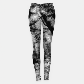 Miniature de image de abstract misty forest painting hvhd hfbw Leggings, Live Heroes