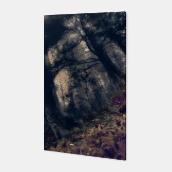 Miniature de image de abstract misty forest painting hvhd hfall Canvas, Live Heroes