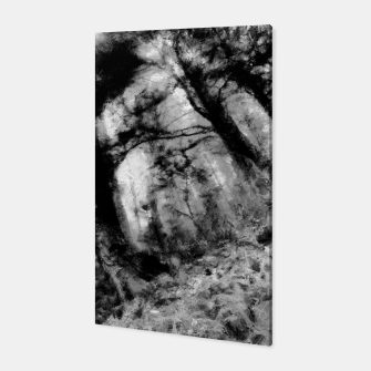 Miniature de image de abstract misty forest painting hvhd hfbw Canvas, Live Heroes