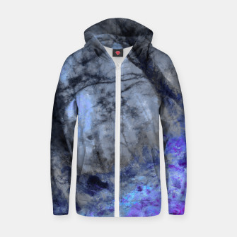 Miniature de image de abstract misty forest painting hvhd hfc80 Zip up hoodie, Live Heroes