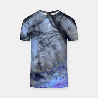 Miniature de image de abstract misty forest painting hvhd hfc80 T-shirt, Live Heroes