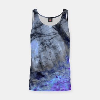 Miniature de image de abstract misty forest painting hvhd hfc80 Tank Top, Live Heroes