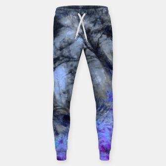 Miniature de image de abstract misty forest painting hvhd hfc80 Sweatpants, Live Heroes