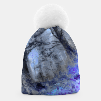 Miniature de image de abstract misty forest painting hvhd hfc80 Beanie, Live Heroes