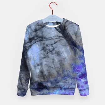 Miniature de image de abstract misty forest painting hvhd hfc80 Kid's sweater, Live Heroes