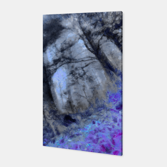 Miniature de image de abstract misty forest painting hvhd hfc80 Canvas, Live Heroes