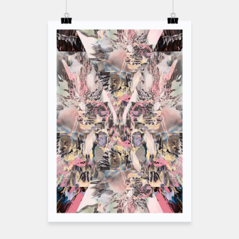 Thumbnail image of Abstract  Plakat, Live Heroes