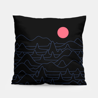 Miniatur Mountain Line Pillow, Live Heroes