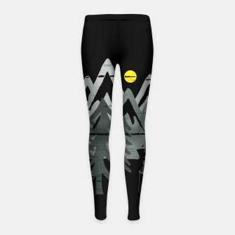 Miniatur Expplorer Girl's leggings, Live Heroes