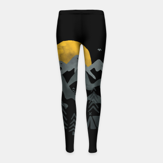 Miniatur Roam Girl's leggings, Live Heroes