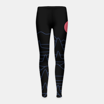 Miniatur Mountain Line Girl's leggings, Live Heroes
