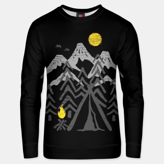 Miniatur Camp Fire Unisex sweater, Live Heroes