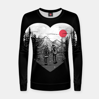 Miniatur Hike and Love Women sweater, Live Heroes