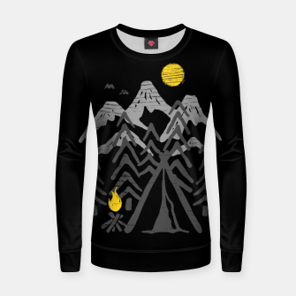 Miniatur Camp Fire Women sweater, Live Heroes