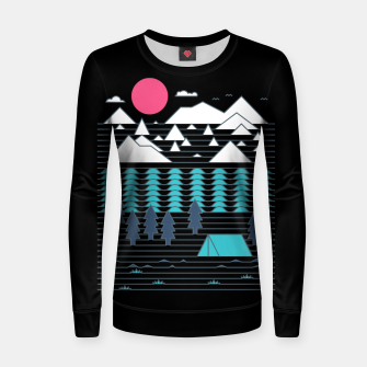 Miniatur Camp Line Women sweater, Live Heroes