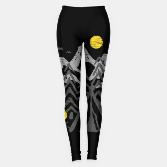 Miniatur Camp Fire Leggings, Live Heroes