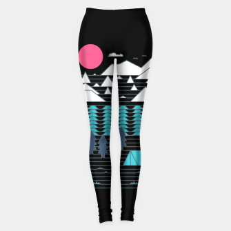 Miniatur Camp Line Leggings, Live Heroes