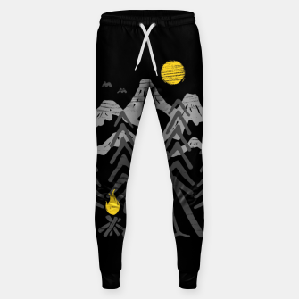 Miniatur Camp Fire Sweatpants, Live Heroes