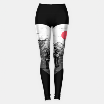 Miniatur Hike and Love Leggings, Live Heroes