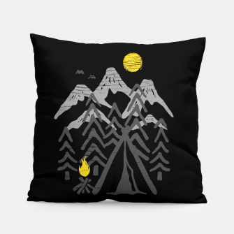 Thumbnail image of Camp Fire Pillow, Live Heroes