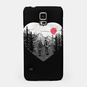 Miniatur Hike and Love Samsung Case, Live Heroes