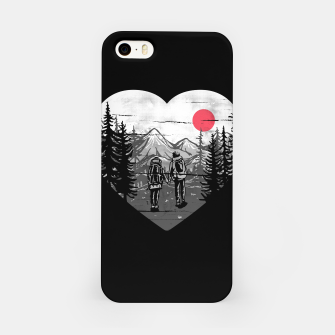 Miniatur Hike and Love iPhone Case, Live Heroes