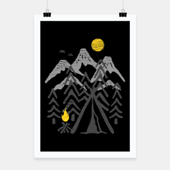 Thumbnail image of Camp Fire Poster, Live Heroes