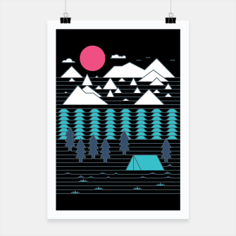 Thumbnail image of Camp Line Poster, Live Heroes