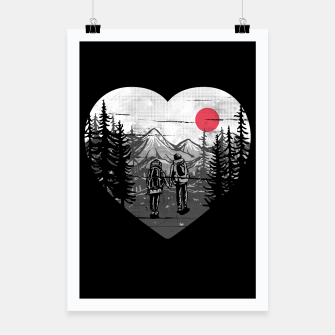 Miniatur Hike and Love Poster, Live Heroes
