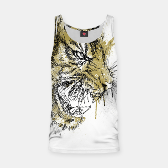 Thumbnail image of Tiger Roar scratch Tank Top, Live Heroes