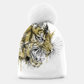 Thumbnail image of Tiger Roar scratch Beanie, Live Heroes