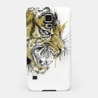 Thumbnail image of Tiger Roar scratch Samsung Case, Live Heroes