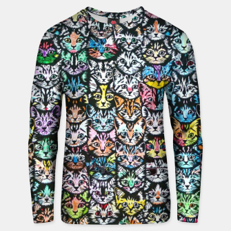 Miniatur Colorful Cats Unisex sweater, Live Heroes