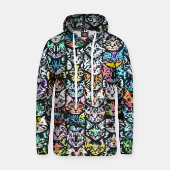 Miniatur Colorful Cats Hoodie, Live Heroes