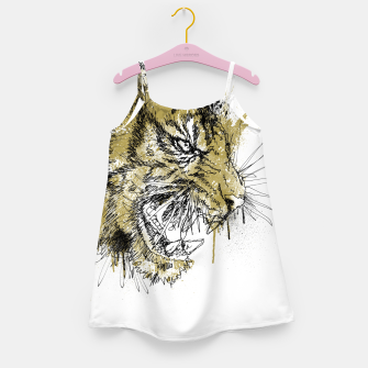 Thumbnail image of Tiger Roar scratch Girl's dress, Live Heroes