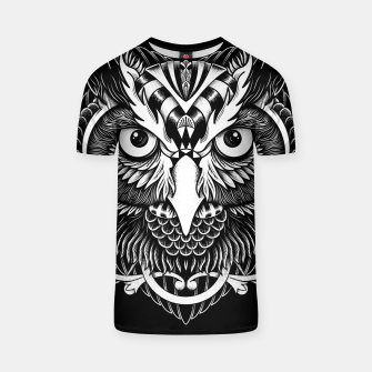 Thumbnail image of Owl Ornate T-shirt, Live Heroes