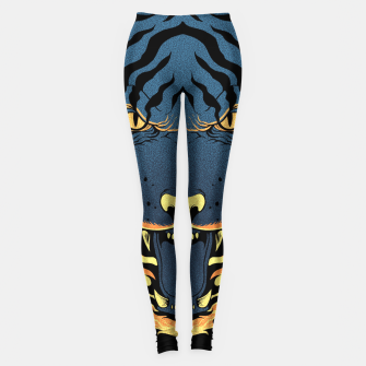 Miniatur Tiger Fire Leggings, Live Heroes