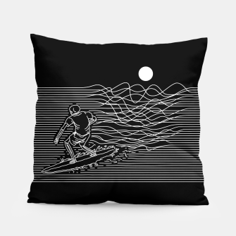 Thumbnail image of Surf Line Pillow, Live Heroes
