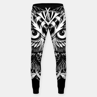 Miniatur Owl Ornate Sweatpants, Live Heroes