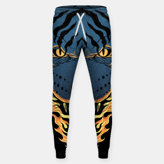 Miniatur Tiger Fire Sweatpants, Live Heroes
