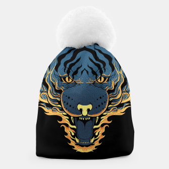 Thumbnail image of Tiger Fire Beanie, Live Heroes