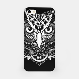 Miniatur Owl Ornate iPhone Case, Live Heroes